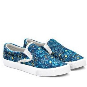 ISO: Bucketfeet Slip-ons Starry Night Shoes